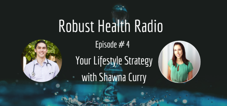 Robust Health Radio Episode 4: Your Lifestyle Strategy with Shawna Curry