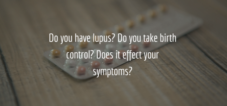 Oral contraceptives and lupus